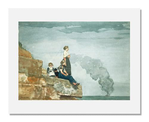 Winslow Homer, Fisherman's Family (The Lookout)
