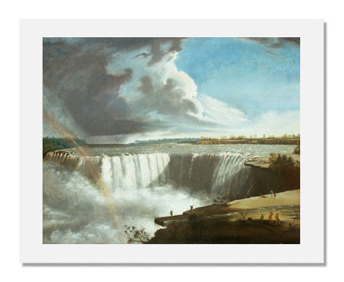 MFA Prints archival replica print of Samuel Finley Breese Morse, Niagara Falls from Table Rock from the Museum of Fine Arts, Boston collection.