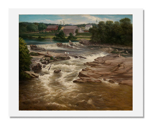 MFA Prints archival replica print of Henry Cheever Pratt, On the Ammonoosuc River from the Museum of Fine Arts, Boston collection.