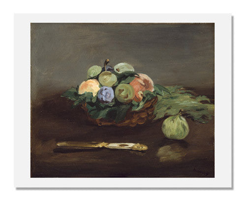 Edouard Manet, Basket of Fruit
