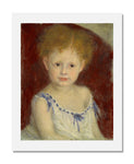 MFA Prints archival replica print of Pierre Auguste Renoir, Jacques Bergeret as a Child from the Museum of Fine Arts, Boston collection.