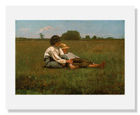 MFA Prints archival replica print of Winslow Homer, Boys in a Pasture from the Museum of Fine Arts, Boston collection.