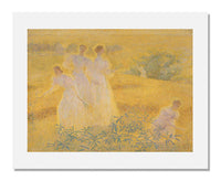 MFA Prints archival replica print of Philip Leslie Hale, Girls in Sunlight from the Museum of Fine Arts, Boston collection.