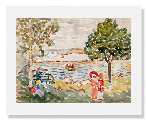 MFA Prints archival replica print of Maurice Brazil Prendergast, Cape Ann from the Museum of Fine Arts, Boston collection.