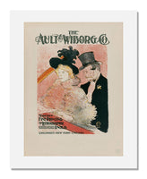 MFA Prints archival replica print of Henri de Toulouse-Lautrec, Poster for The Ault & Wiborg Co. from the Museum of Fine Arts, Boston collection.