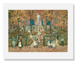MFA Prints archival replica print of Maurice Brazil Prendergast , West Church, Boston from the Museum of Fine Arts, Boston collection.