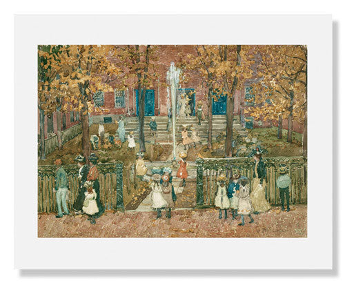 Maurice Brazil Prendergast , West Church, Boston