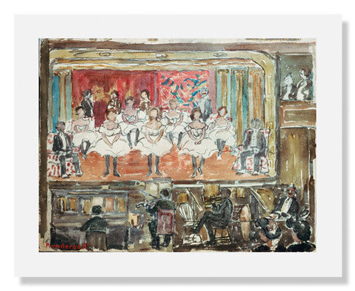 Maurice Brazil Prendergast, The End Men