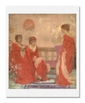 James Abbott McNeill Whistler, Harmony in Flesh Colour and Red