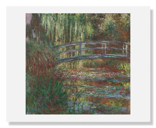 MFA Prints archival replica print of Claude Monet, The Water Lily Pond from the Museum of Fine Arts, Boston collection.