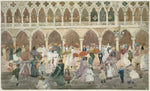 Maurice Brazil Prendergast, Sunlight on the Piazzetta