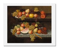 Joseph Goodhue Chandler, Still Life with Fruit