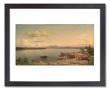 MFA Prints archival replica print of Martin Johnson Heade, Lake George from the Museum of Fine Arts, Boston collection.
