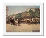 MFA Prints archival replica print of Childe Hassam, Grand Prix Day from the Museum of Fine Arts, Boston collection.