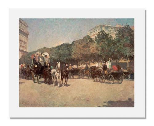 Childe Hassam, Grand Prix Day