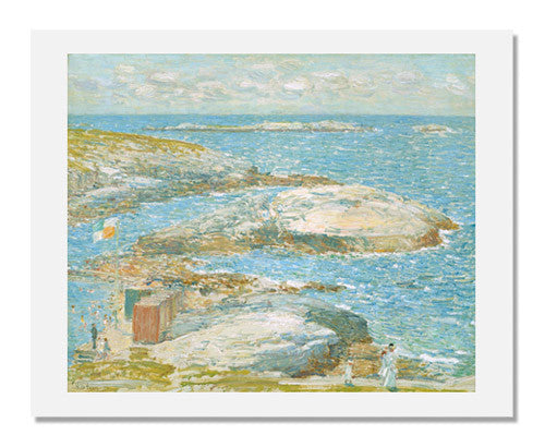 Childe Hassam, Bathing Pool, Appledore