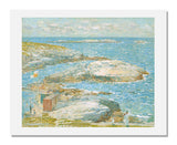 MFA Prints archival replica print of Childe Hassam, Bathing Pool, Appledore from the Museum of Fine Arts, Boston collection.