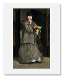 MFA Prints archival replica print of Edouard Manet, Street Singer from the Museum of Fine Arts, Boston collection.