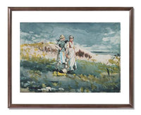MFA Prints archival replica print of Winslow Homer, The Dunes from the Museum of Fine Arts, Boston collection.