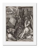 MFA Prints archival replica print of Albrecht Dürer, Melencolia I from the Museum of Fine Arts, Boston collection.