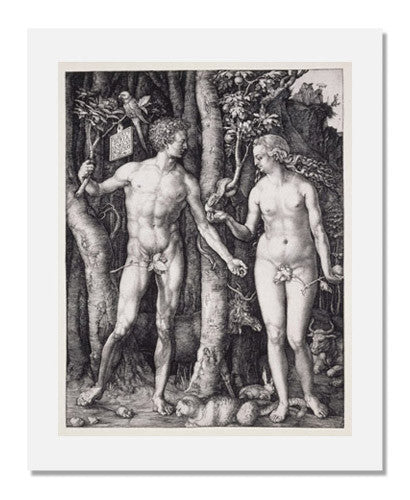 Albrecht Dürer, The Fall of Man (Adam and Eve)