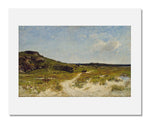 MFA Prints archival replica print of William Lamb Picknell, Sand Dunes of Essex, Massachusetts from the Museum of Fine Arts, Boston collection.