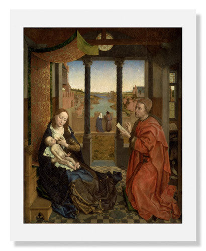 Rogier van der Weyden, Saint Luke Drawing the Virgin