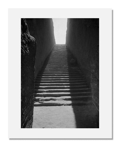 Mohammedani Ibrahim Ibrahim, Gebel Barkal: Pyramid 11, stair from room A