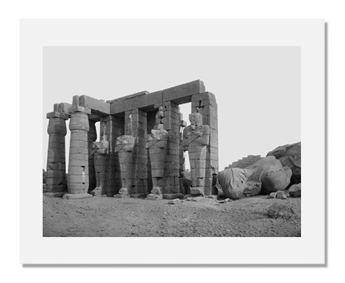 Unidentified artist, The Ramesseum