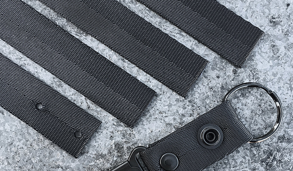ARKTYPE Mission Log - Mil-Spec Webbing and Riflesnap Keychain