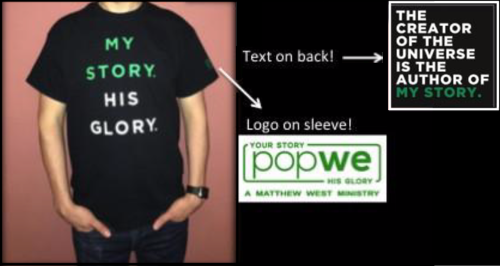 popwe Short Sleeve T-Shirt