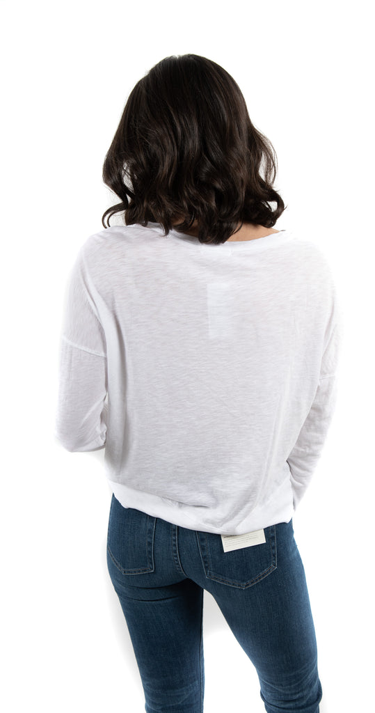 Easy Long Sleeve White