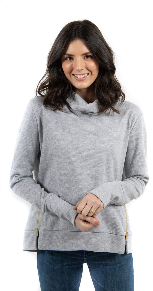 Clement Sweater Heather Gray