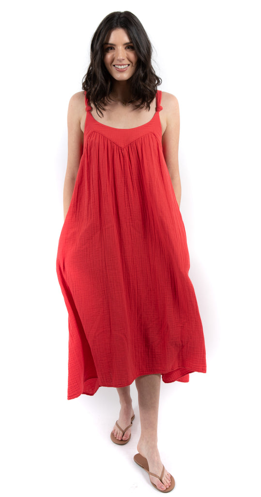Rumi Dress Redrock
