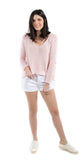 Le Cutoff Cuffed Short Blanc