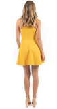 Moore Dress Golden Rod