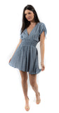 Beverly Dress Blue Ditzy