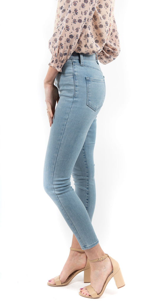 Lillie High Rise Crop Skinny Verity