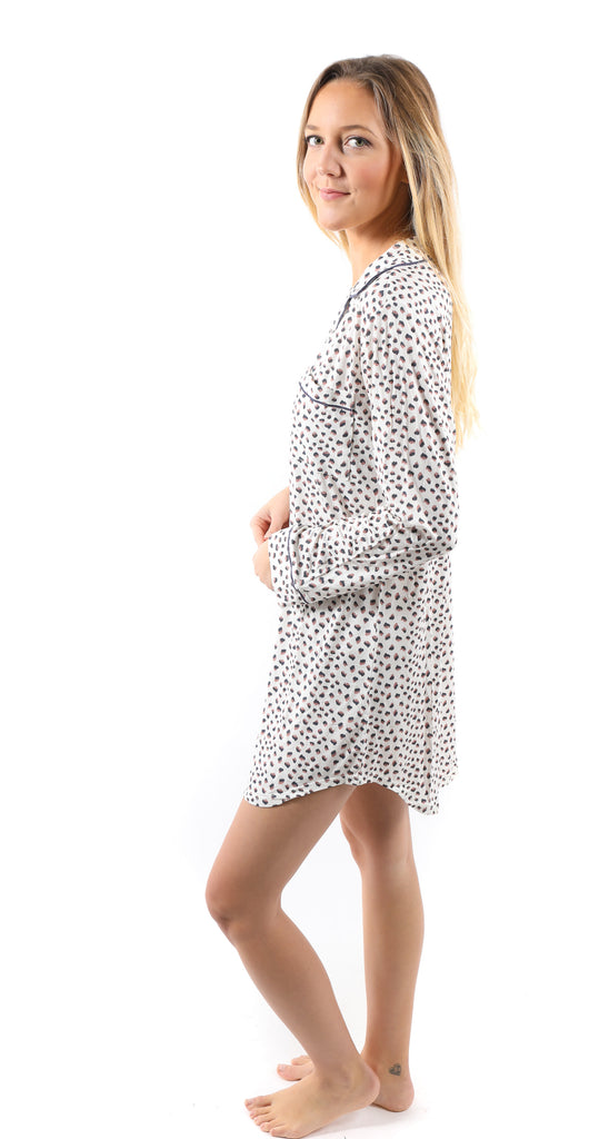 Sleep Chic Sleepshirt Foxtail/Ombre Blue