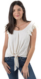 Shannon Top Ivory