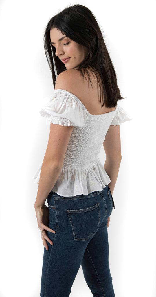 Giana Top White