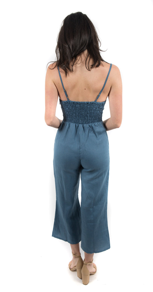 Presley Jumpsuit Blue