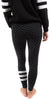 Stripe Dots Yoga Pant Soft Black