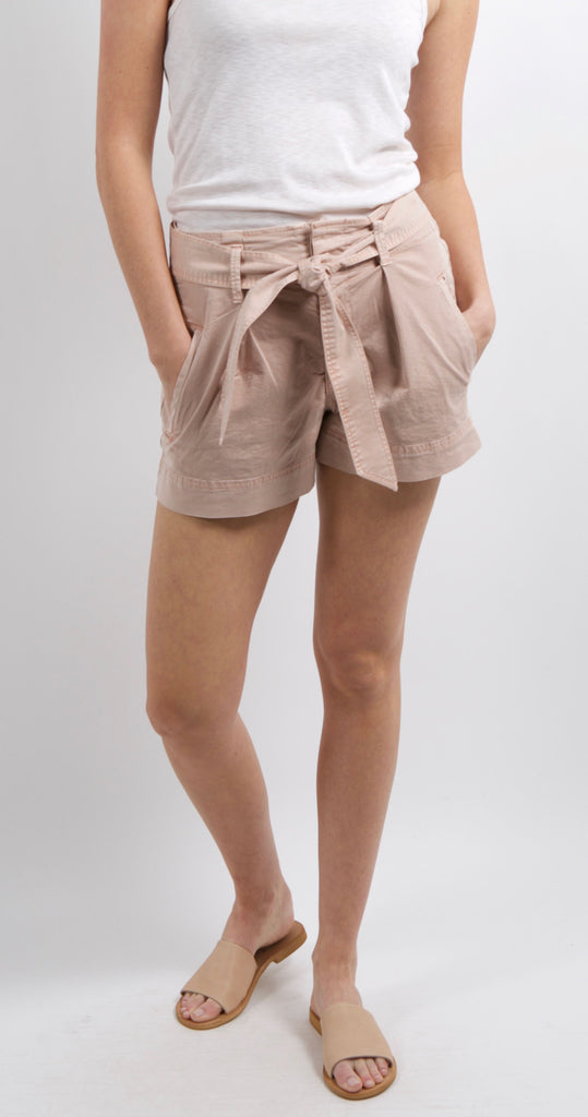 Paperbag Shorts Dusty Pink