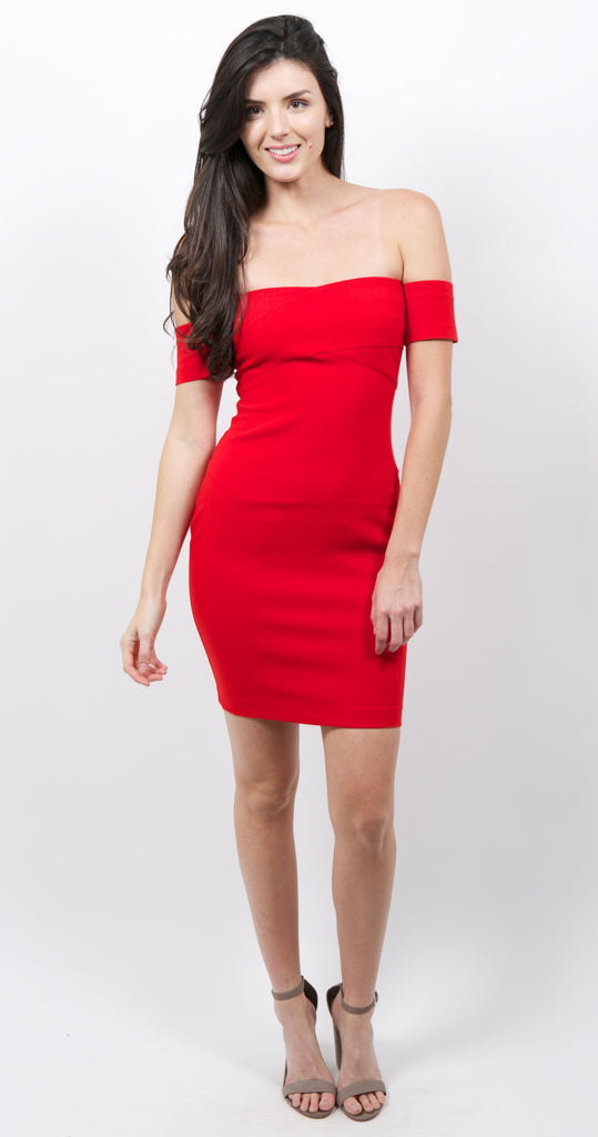 Ainsley Dress Scarlet