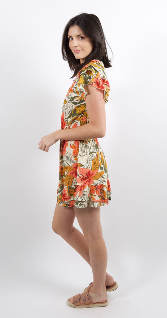 Ulani Dress Tropical Indian