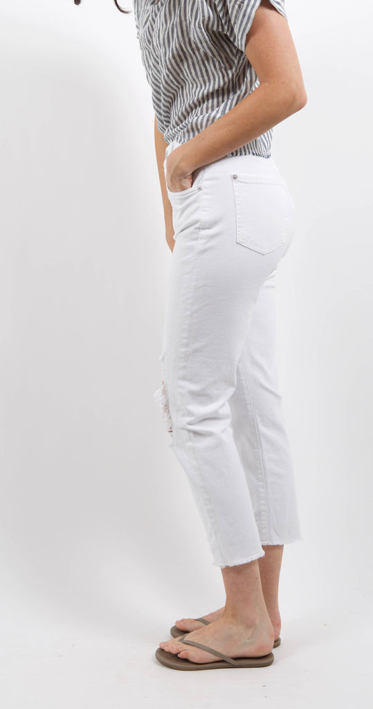 Josefina Denim White