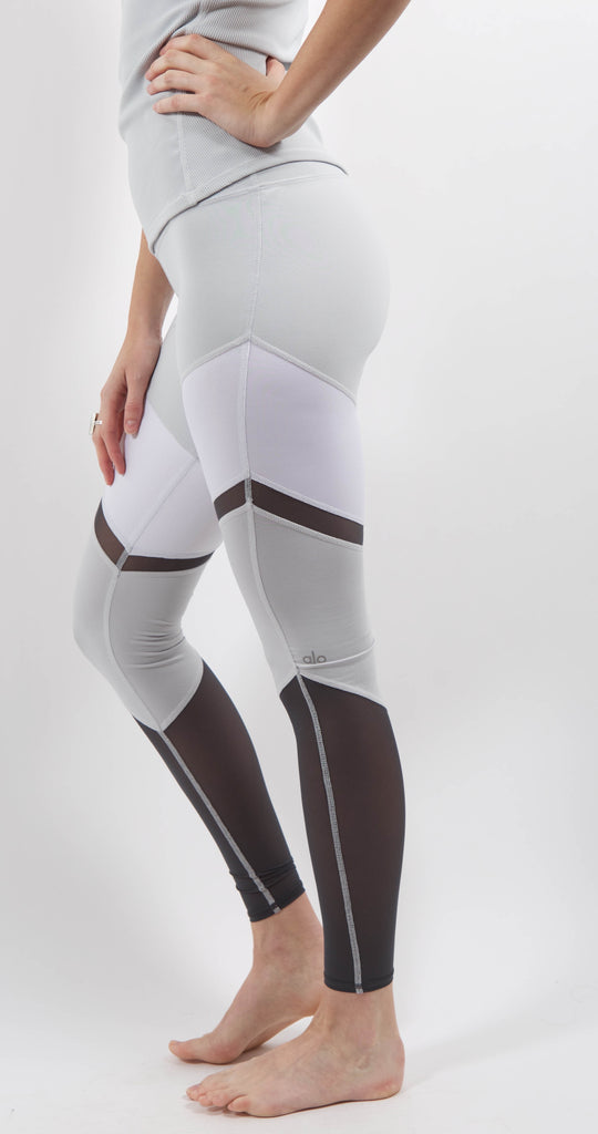 Shelia Color Block Legging Dove Grey