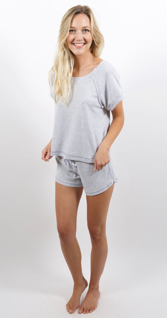 Pocket Short Light Grey