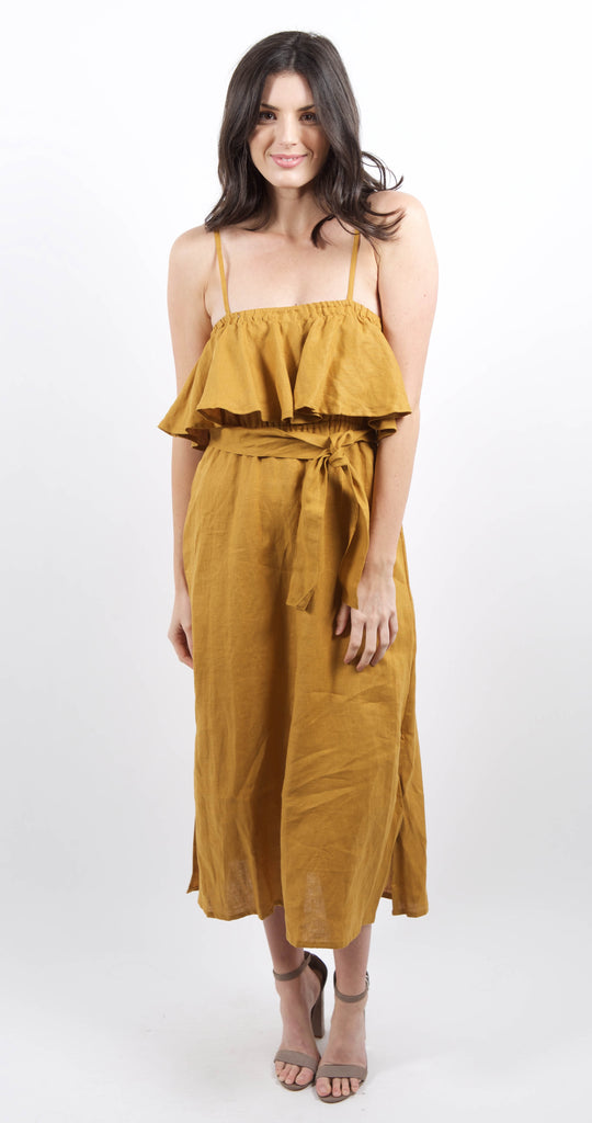Santo Midi Dress Marigold